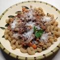 Rich Ragù over pasta