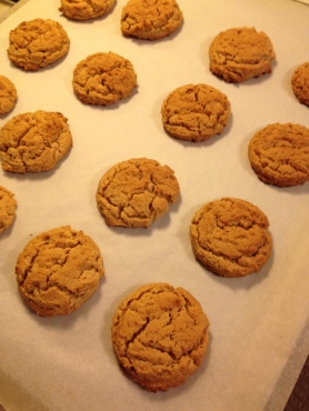 Two-inch cookies