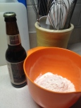 Beer and flour