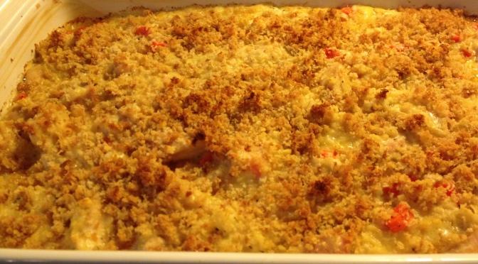 Cheesy Chicken Rice Casserole