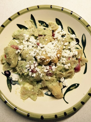 With crumbled queso fresco