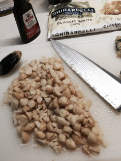 chopped macadamia nuts