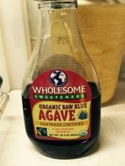 Agave instead of honey