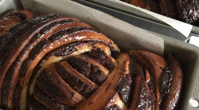 Chocolate Babka, Once