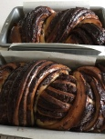 Baked babka