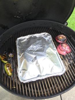Roast over indirect heat