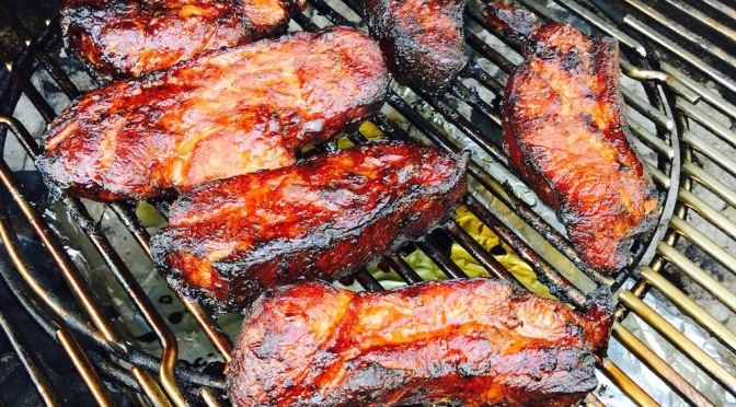 Asian-Marinated Country Style Ribs