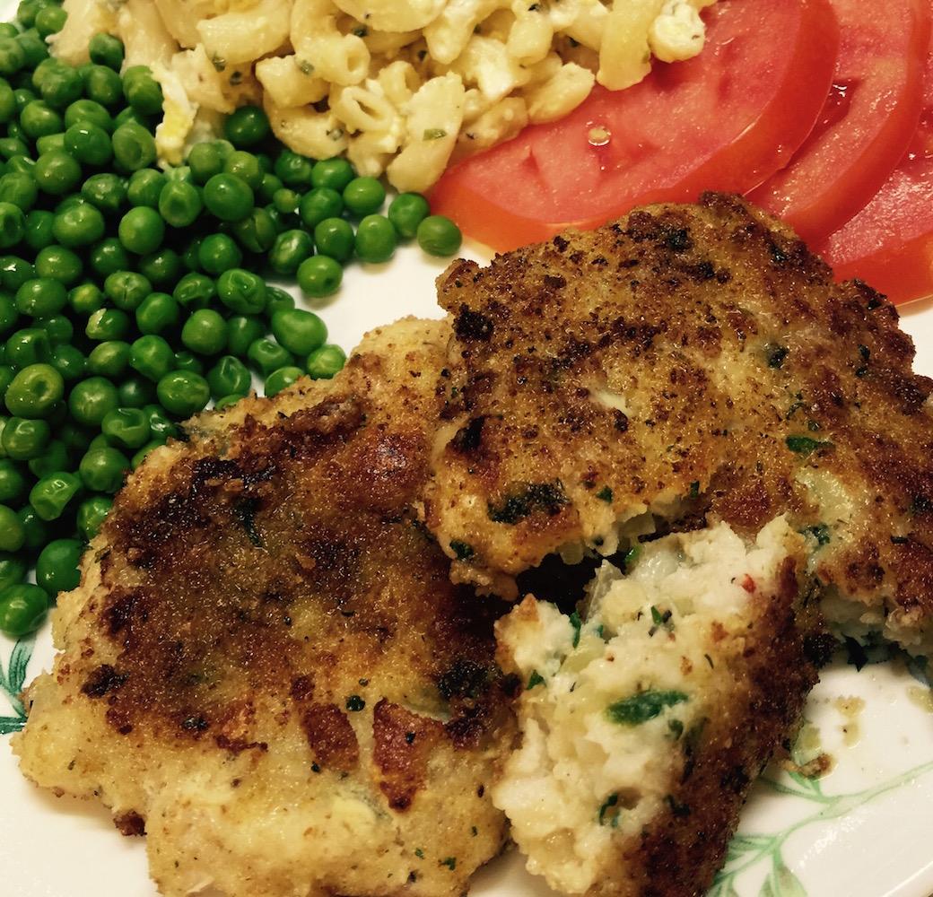 Walleye Fish Cakes Recipe