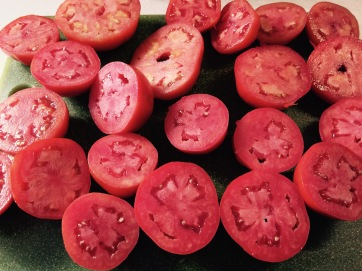 Meaty tomatoes hardly need seeding