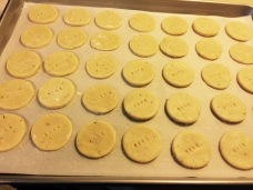 Rounds, unbaked