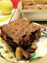 Moist and chunky cake