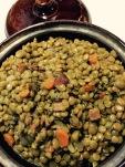 Finished lentils