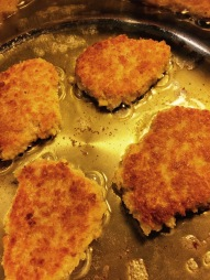 Fry in oil and butter