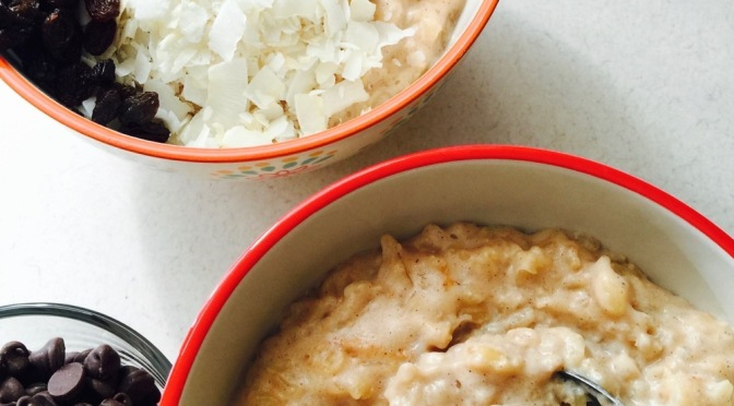 Slow Cooker Brown Rice Pudding, Low-Sugar, Lactose-Free