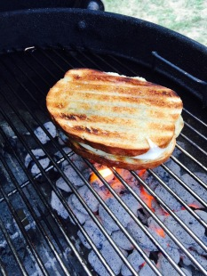 5. Grill the sandwich
