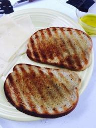 2. Toast the inside