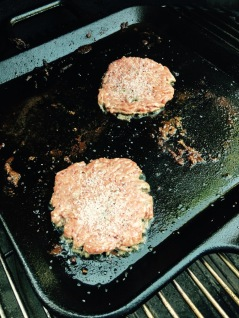Second round of burgers