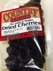 Dried tart cherries
