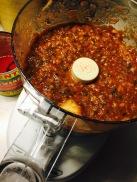 Sauce looks a lot like salsa