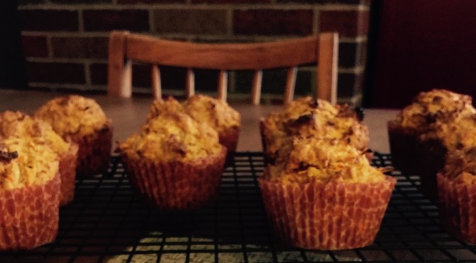Sour Cream Carrot Breakfast Muffins
